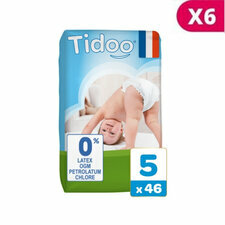 TIDOO 6x46 Couches Eco JUNIOR T5 12/25kg