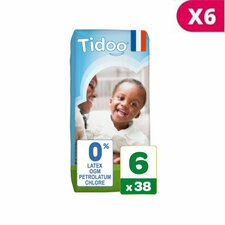 TIDOO 6x38 Couches ECO XL T6 16/30kg