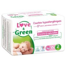 Love & Green 36 couches T2 3/6 kg
