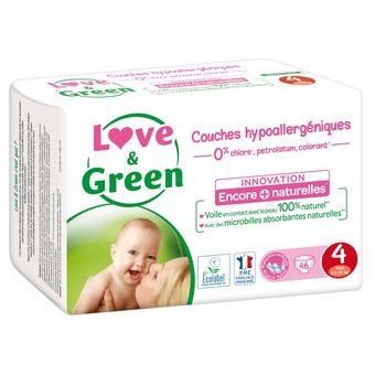 Love & Green 46 couches T4 7/14 kg