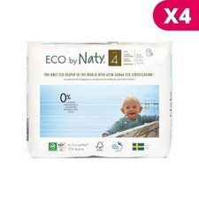 Naty 4x22 Culottes Taille 4 - 8/15kg