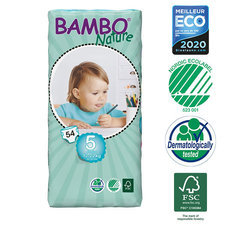 Bambo Nature 54 Couches T5 Junior (12-22kg)
