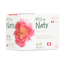 NATY 18 Tampons sans applicateur NORMAL