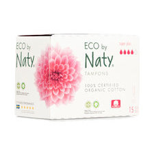 NATY 15 Tampons sans applicateur SUPER+