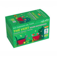 Thé vert Hiver Gourmand 20 infusettes