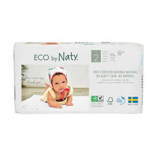 Naty 34 Couches éco Taille 2 - 3/6kg