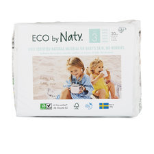 Naty 31 Couches éco Taille 3 - 4/9kg
