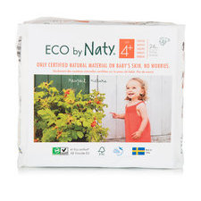 Naty 25 Couches éco Taille 4+ - 9/20kg