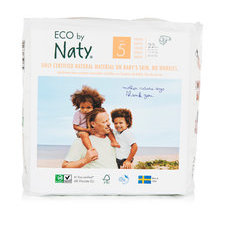 Naty 23 Couches éco Taille 5 - 11/25kg