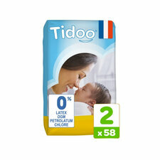 Tidoo 58 couches T2 / SMALL (3-6kg)