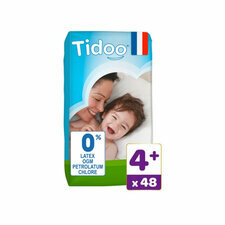 TIDOO 48 Couches Eco MAXI+ T4+ 9/20kg