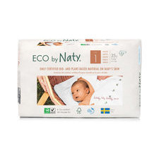 Naty 25 Couches éco Taille 1 - 2/5kg