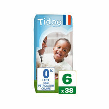 TIDOO 38 Couches Taille 6 XXL (16/30kg)