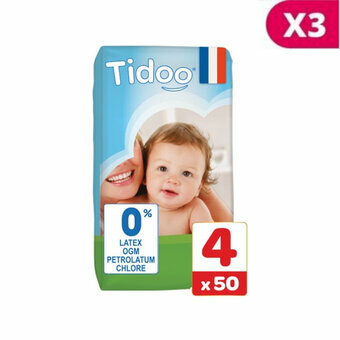 TIDOO 3x50 Couches T4 / Large (7/18kg)