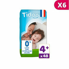 TIDOO 6x48 Couches T4+ / Large+ (9/20kg)