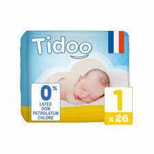 Tidoo 26 couches Taille 1 NEWBORN (2-5kg)