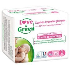 Love & Green 23 couches T1 2/5 kg
