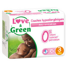 Love & Green 32 couches T3 4/9 kg