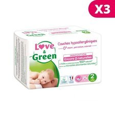 Love & Green 3x36 couches T2 3/6 kg
