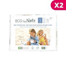 Naty 2 x 31 Couches éco Taille 3 - 4/9kg