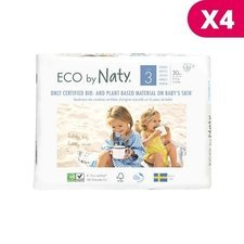 Naty 4 x 31 Couches éco Taille 3 - 4/9kg
