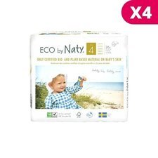 Naty 4x26 Couches éco Taille 4 - 7/18kg