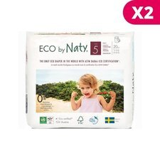 Naty Pack 2x20 Culottes Taille5 -12/18kg
