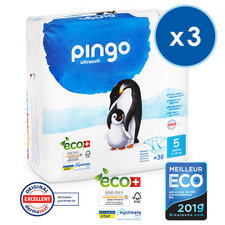 Pingo 3x36 Couches T5 Junior (12-25kg)