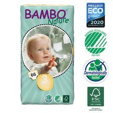Bambo Nature 66 Couches T3 Midi (5-9kg)
