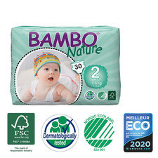Bambo Nature 30 Couches T2 Mini (3-6kg)