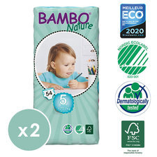 Bambo Nature 2x54 Couches T5 (12-22kg)