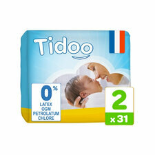 Tidoo 31 couches T2 / Small (3-6kg)