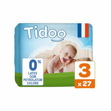 Tidoo 27 couches Taille 3 Medium (4/9kg)