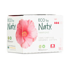 NATY 18 Tampons sans applicateur SUPER
