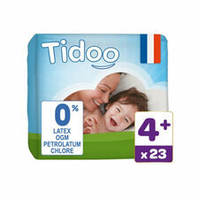 Tidoo 23 couches Taille 4+ Large plus (9-20kg)