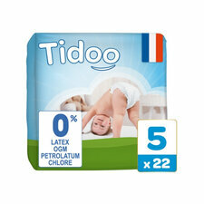 Tidoo 22 couches Taille 5 XLarge (12-25kg)