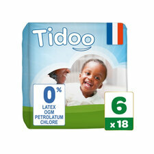 Tidoo 18 couches Taille 6  XXL (16-30kg)