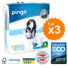 Pingo 3x32 Couches T6 XL (16-30kg)