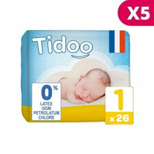 Tidoo 5x26 couches Taille 1 NEWBORN (2-5kg)