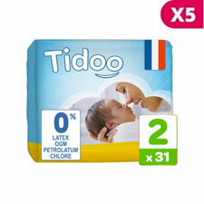 Tidoo 5x31 couches T2 / Small (3-6kg)