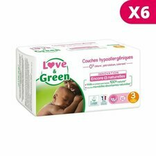 Love & Green 6x52 couches T3 4/9 kg