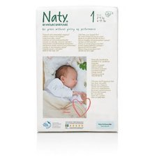 Naty 26 Couches éco Taille 1 - 2/5kg