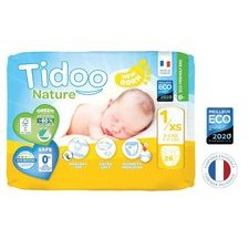 Tidoo Nature 26 Couches T1 (2 à 5 kg)