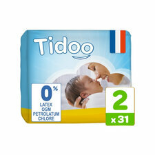 Tidoo Nature 31 Couches T2 (3 à 6 kg)