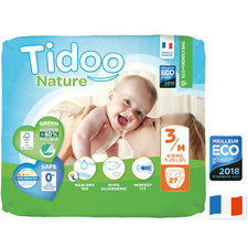 Tidoo Nature 27 Couches T3 (4 à 9 kg)