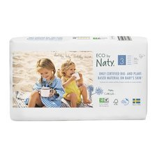 Naty 50 Couches éco Taille 3 - 4/9kg