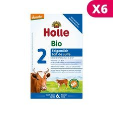 Holle 2 Lait de suite X 6