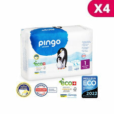 Pingo 4 x 27 Couches Taille 1 (2-5kg)