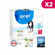 Pingo 2 x 40 Couches Taille 4 Maxi (7-18kg)
