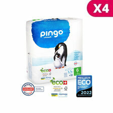 Pingo 4 x 32 Couches Taille 6 XL (15-30kg)